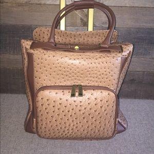 Adrienne Vittadini Rolling Weekender Bag